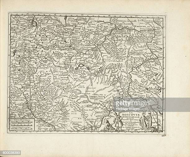 Map of Moscovia 1726 Found in the collection of Rijksmuseum Amsterdam Artist Aa Pieter van der