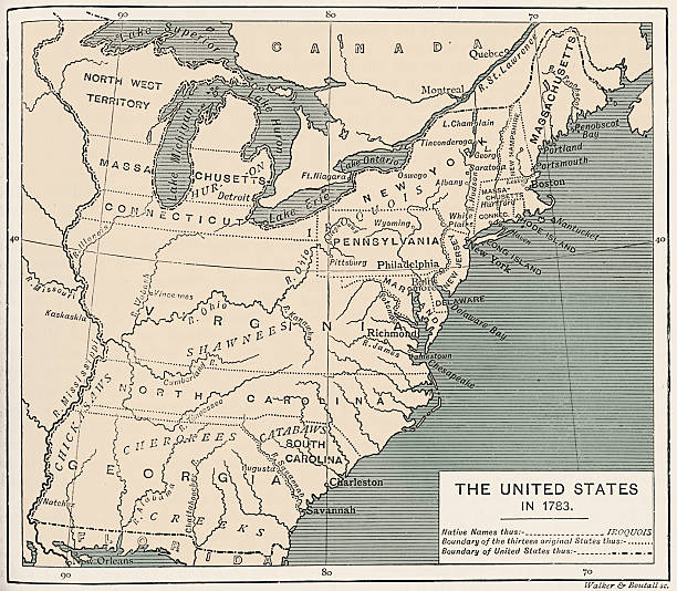 Territorial Acquisitions Of The United States Since Map - Us map 1783