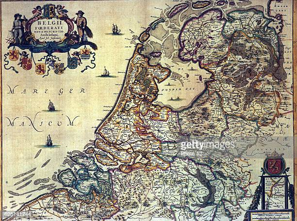 Map of the Dutch Republic Amsterdam