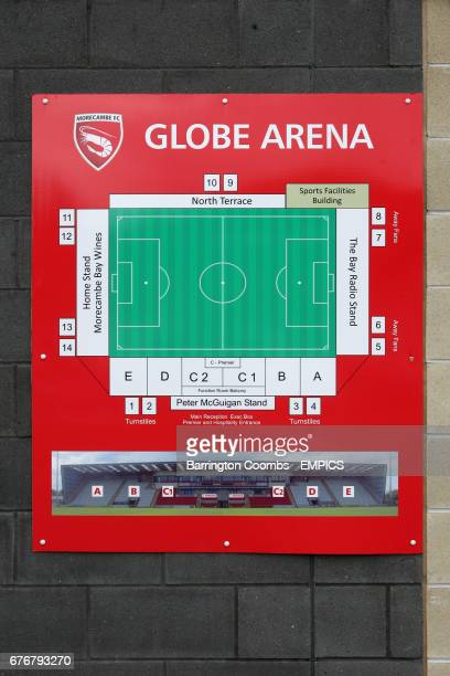 Map of the Globe Arena