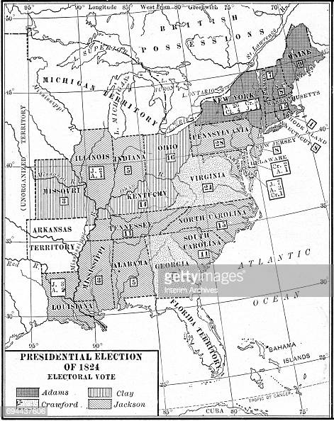 Electoral Vote In US Election Pictures Getty Images - Us map showing electoral votes