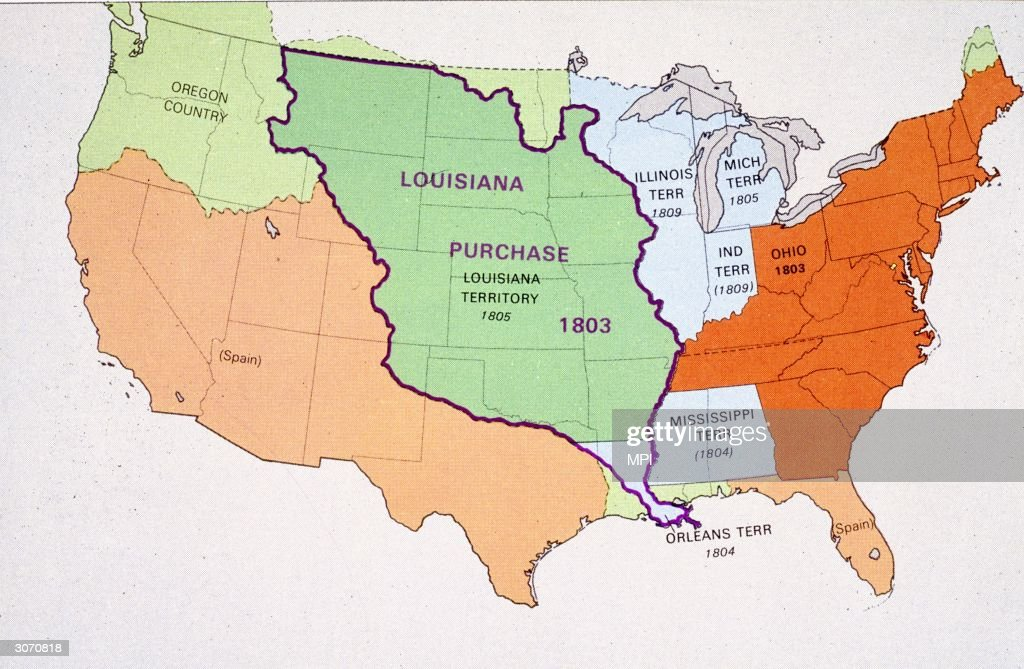Louisiana Purchase States Included  Wwwimgarcade