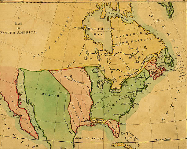 North America Pictures Getty Images - Us map 1803