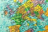 Map view of Europe.