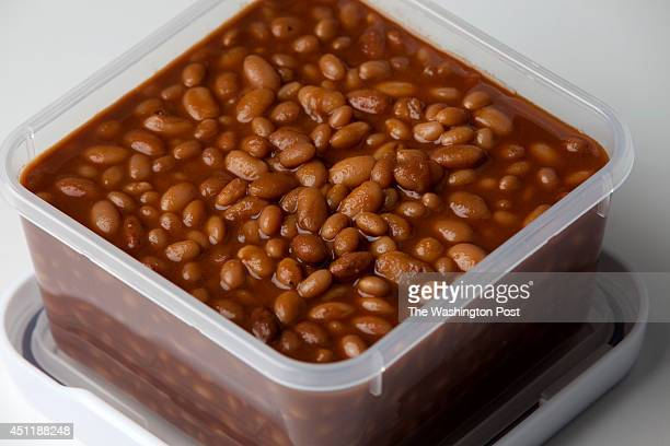 Maple Baked Beans Container from Crate and Barrel Photographed in the studio in Washington DC on September 22 2010