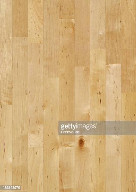 Maple Bloco de Carniceiro fundo de madeira