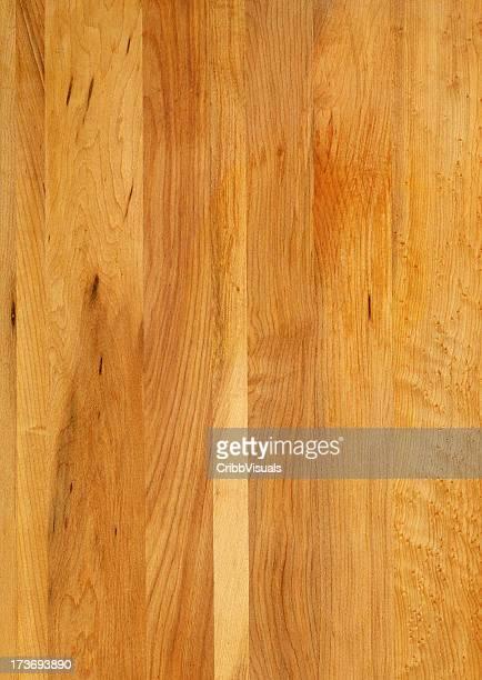Maple wood grain butcher block background