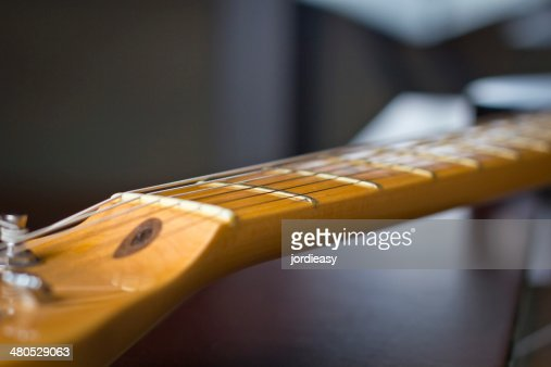 Ahornholz neck guitar : Stock-Foto