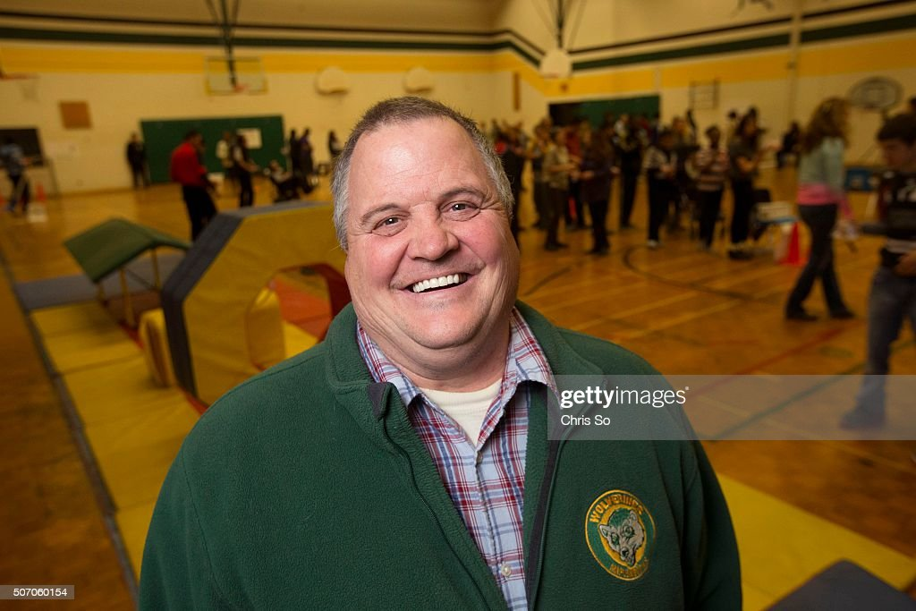 Maplewood High School principal Duncan LeBlanc during a winter fair held in the school gym LeBlanc has been named one of Canada's outstanding...