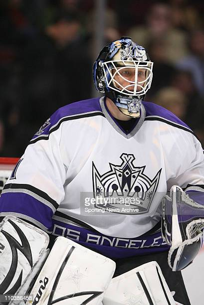 Mar 06 2007 Chicago IL USA Los Angeles Kings SEAN BURKE against Chicago Blackhawks at the United Center in Chicago Ill on March 6 2007 The Blackhawks...