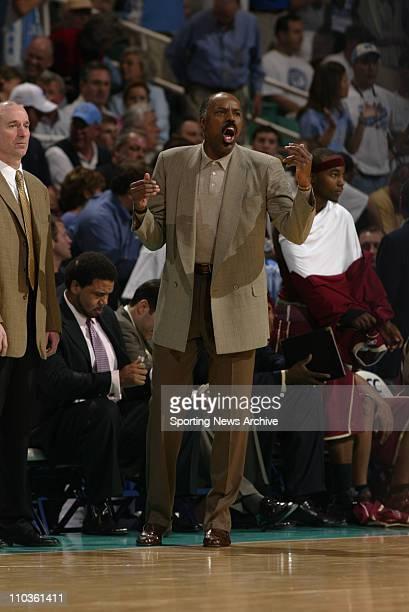 Mar 11 2006 Greensboro NC USA Boston College head coach Al Skinner during the ACC Tournament Boston College against the University of North Carolina...