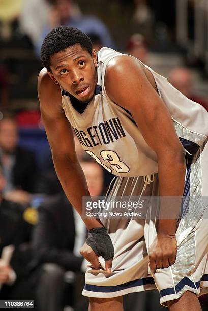Mar 15 2007 WinstonSalem NC USA Georgetown Patrick Ewing against Belmont during the first round of the NCAA basketball tournament at the Joel...