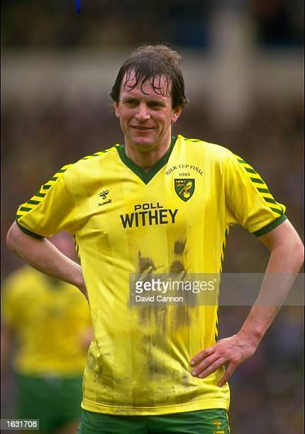 Portrait of Mick Channon of Norwich City during the Milk Cup final against Sunderland at Wembley Stadium in London Norwich won the match 10 Mandatory...
