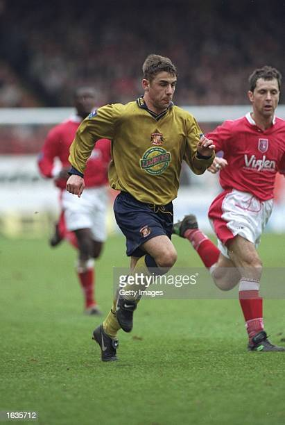 Kevin Phillips of Sunderland in action during a Nationwide Division One match against Charlton Athletic at The Valley in London Mandatory Credit...