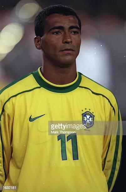 Portrait of Romario of Brazil before the International friendly against Germany at the Neckarstadion in Stuttgart in Germany Brazil won 21 Mandatory...