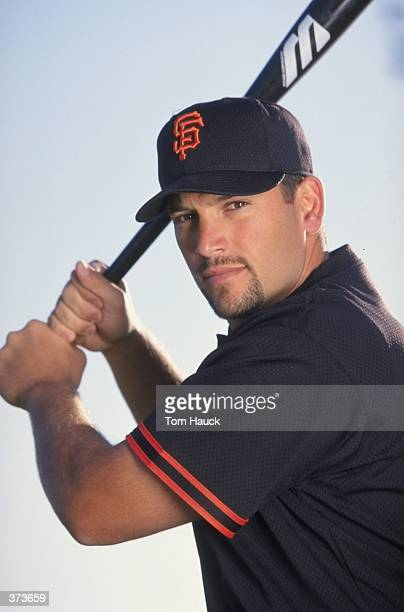 Catcher Doug Mirabelli of the San Francisco Giants poses for the camera on Photo Day during Spring Training at the Scottsdale Stadium in Scottsdale...