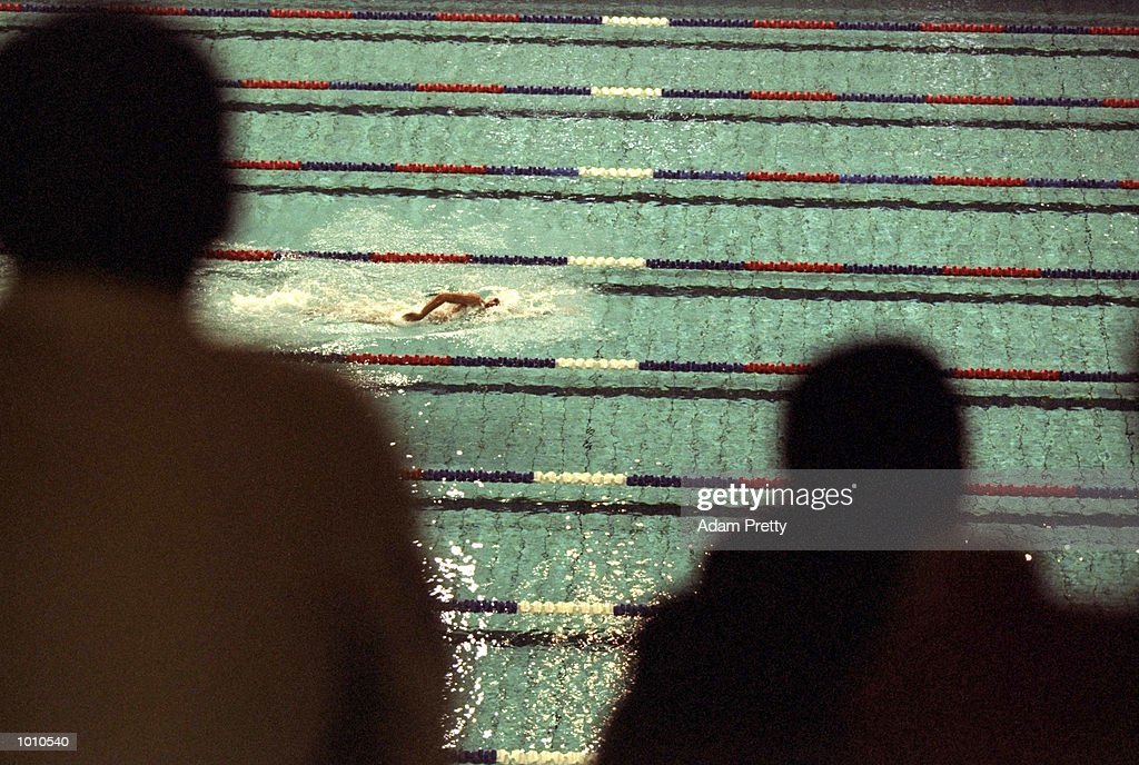 Grant Hackett of Australia on his way to winning the Mens 1500m Freestyle at the 1999 Australian Open Championships and Pan Pacific Selection Trials from the Chandler Aquatic Centre, Brisbane, Australia. \ Mandatory Credit: Adam Pretty /Allsport