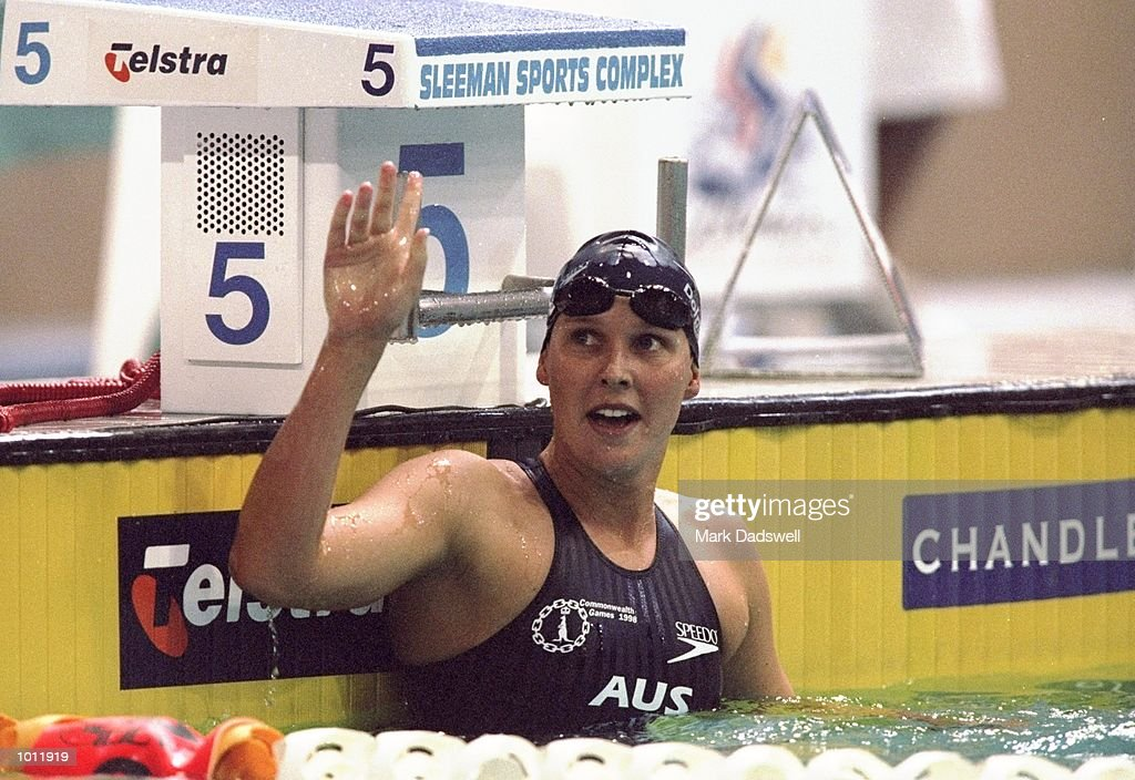 Susie O''Neill of Australia in action during the 1999 Australian Open Championships and Pan Pacific Selection Trials at the Chandler Aquatic Centre, Brisbane, Australia. \ Mandatory Credit: Mark Dadswell /Allsport