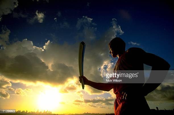 The 2000 Sydney Olympic Games Torch Mandatory Credit Nick Wilson /Allsport