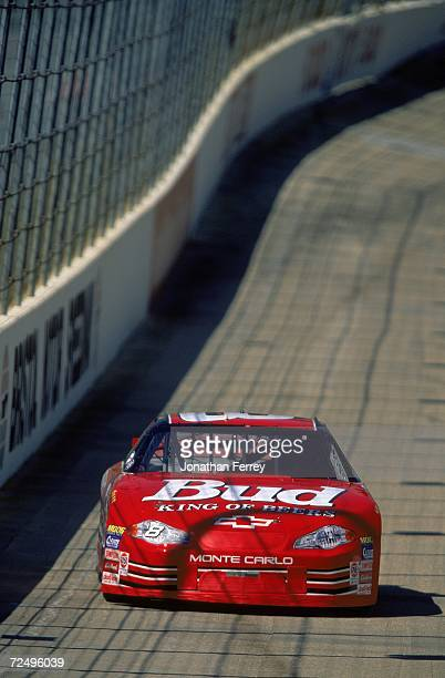 Dale Earnhardt Jr is in action during the Food City 500 at the Bristol Motor Speedway in Bristol Tennessee Mandatory Credit Jon Ferrey /Allsport
