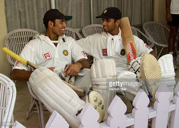 VVS Laxman and Rahul Dravid of India reflect on their record breaking partnership after day four of the 2nd Test between India and Australia played...
