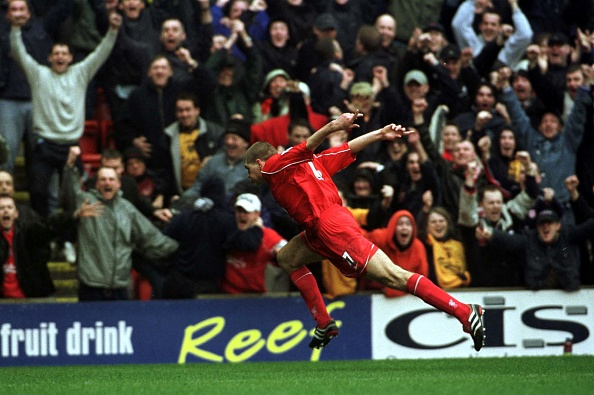 Liverpool v Man Utd : News Photo