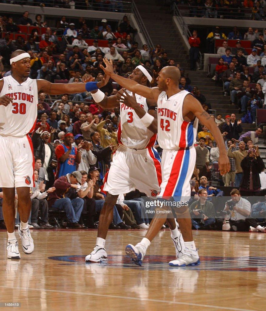 Celtics v Pistons X Robinson