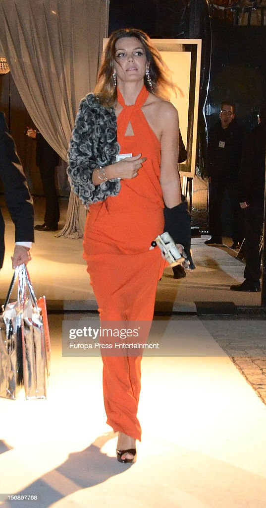 <a gi-track='captionPersonalityLinkClicked' href=/galleries/search?phrase=Mar+Flores&family=editorial&specificpeople=2121506 ng-click='$event.stopPropagation()'>Mar Flores</a> arrives at Marie Claire Prix de la Moda Awards 2012 on November 22, 2012 in Madrid, Spain.