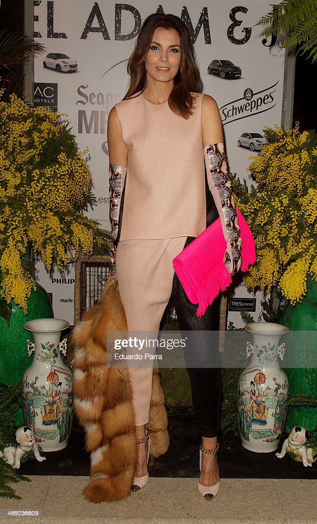 <a gi-track='captionPersonalityLinkClicked' href=/galleries/search?phrase=Mar+Flores&family=editorial&specificpeople=2121506 ng-click='$event.stopPropagation()'>Mar Flores</a> attends Jorge Vazquez Pret a Porter collection presentation photocall at Royal Botanic Garden on February 13, 2014 in Madrid, Spain.