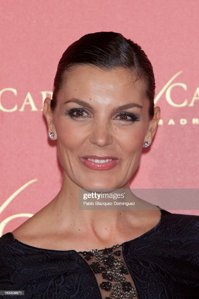 Mar Flores attends 'Maja de los Goya Awards 2012' at Fernan Nunez Palace on March 7, 2013 in Madrid, Spain.