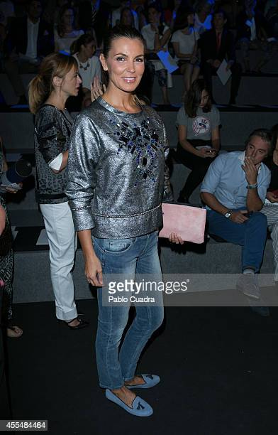 Mar Flores attends Mercedes Benz Fashion Week Madrid at Ifema on September 15 2014 in Madrid Spain