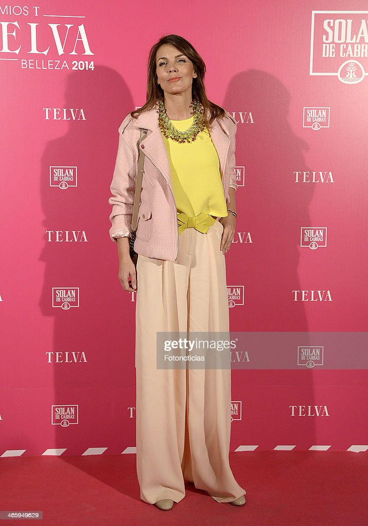 <a gi-track='captionPersonalityLinkClicked' href=/galleries/search?phrase=Mar+Flores&family=editorial&specificpeople=2121506 ng-click='$event.stopPropagation()'>Mar Flores</a> attends 'T de Telva' beauty awards 2014 at the Palace Hotel on January 30, 2014 in Madrid, Spain.