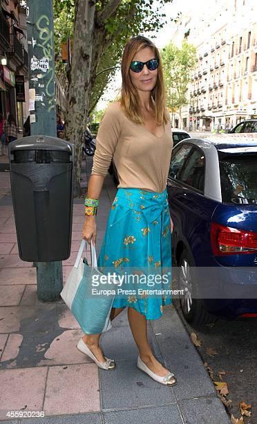 Mar Flores attends the Fiona Ferrer's 40th Birthday at Loft 39 restaurant on September 21 2014 in Madrid Spain