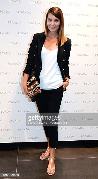 Mar Flores attends the opening of Escada store on June 5 2014 in Marbella Spain