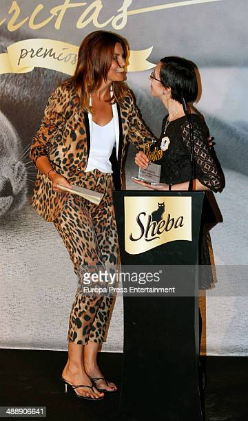 Mar Flores attends the 'Sheba Awards II Edition' on May 8 2014 in Madrid Spain