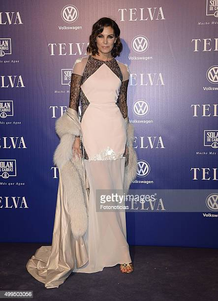 Mar Flores attends the 'T De Moda' Awards by Telva Magazine at the Teatro Real on December 1 2015 in Madrid Spain