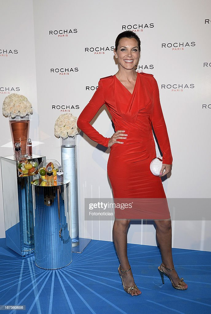 Mar Flores attends 'Tribut to Freshness and Rochas Women' event at the French embassy on April 24, 2013 in Madrid, Spain.