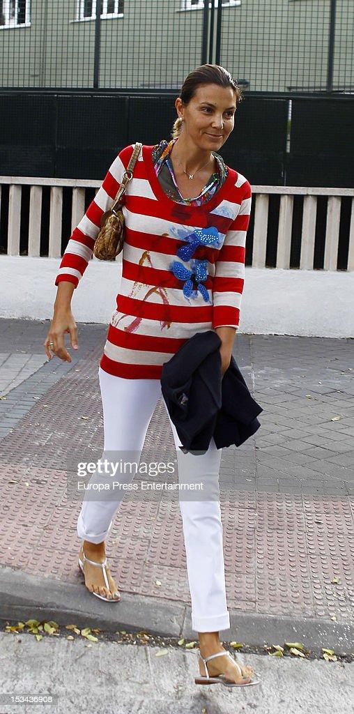 Celebrities Sighting In Madrid - October 01, 2012
