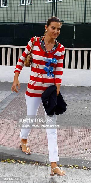 Mar Flores is seen on October 1 2012 in Madrid Spain