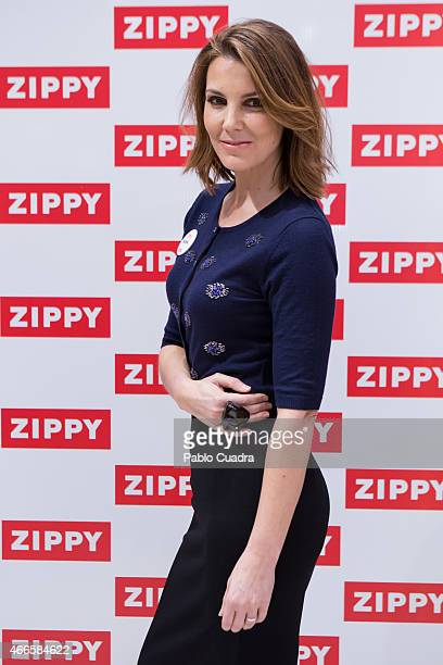 Mar Flores presents 'Zippy' new experience at the 'Zielo Shopping Pozuelo' mall on March 17 2015 in Pozuelo de Alarcon Spain