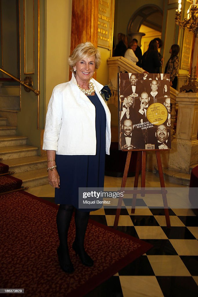 Mar Raventos attends The Shopping Night Barcelona's presentaton at the Gran Teatre del Liceu on October 30, 2013 in Barcelona, Spain.