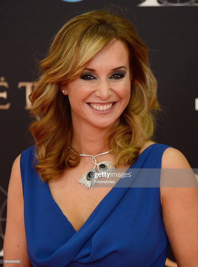 Mar Regueras attends Goya Cinema Awards 2013 at Centro de Congresos Principe Felipe on February 17, 2013 in Madrid, Spain.