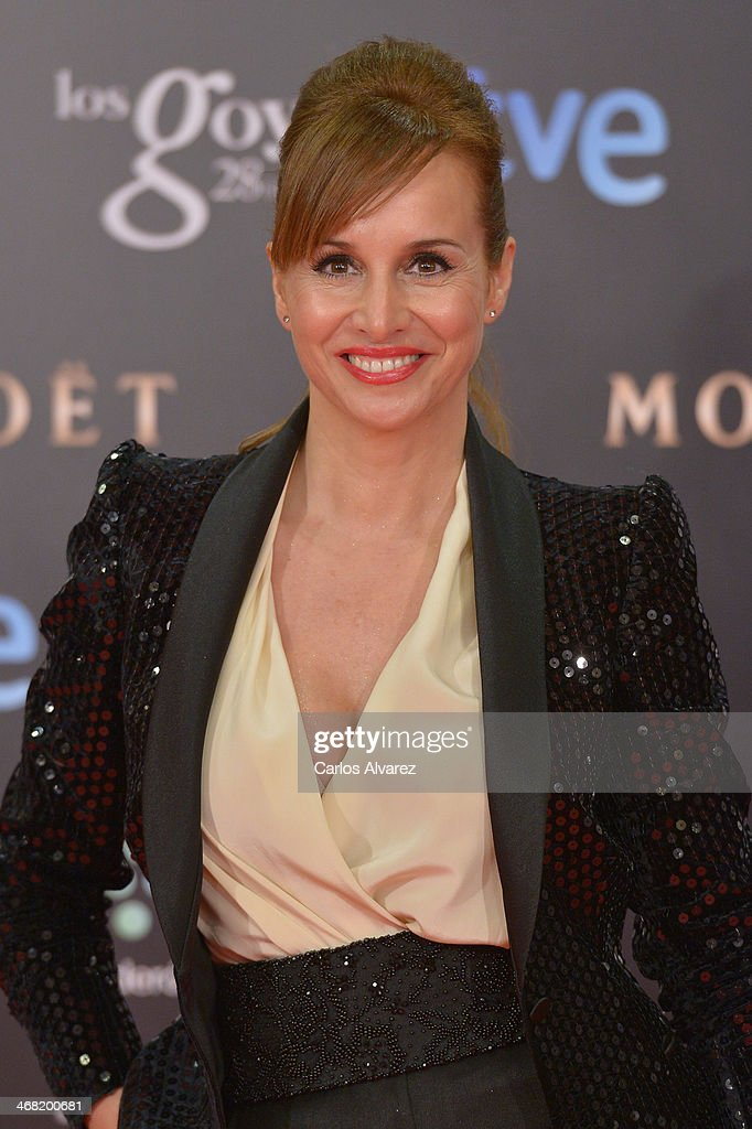 Mar Regueras attends Goya Cinema Awards 2014 at Centro de Congresos Principe Felipe on February 9, 2014 in Madrid, Spain.