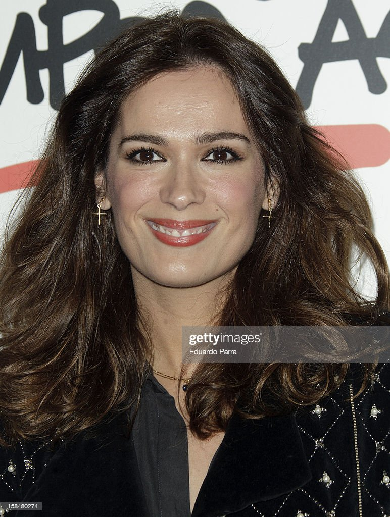 Mar Saura attends '20 anos Siempre Asi' concert photocall at Rialto theatre on December 17, 2012 in Madrid, Spain.