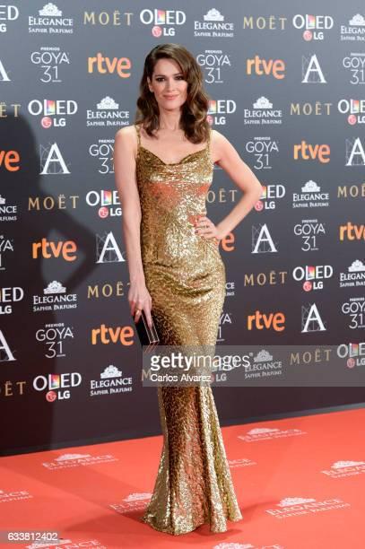 Mar Saura attends Goya Cinema Awards 2017 at Madrid Marriott Auditorium on February 4 2017 in Madrid Spain