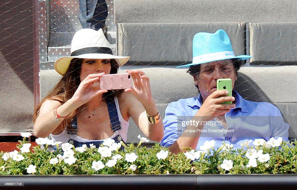 Celebrities Attend Mutua Madrid Open - Day Six