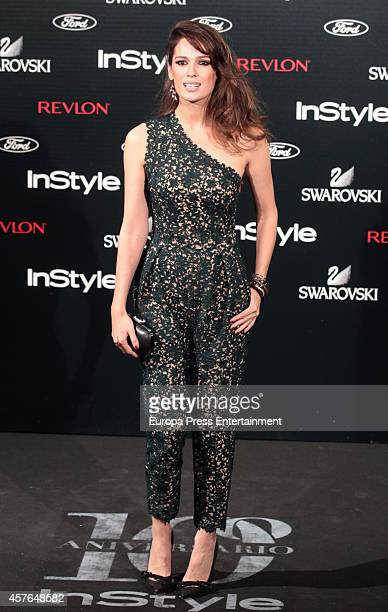 Mar Saura attends the InStyle Magazine 10th anniversary party on October 21 2014 in Madrid Spain