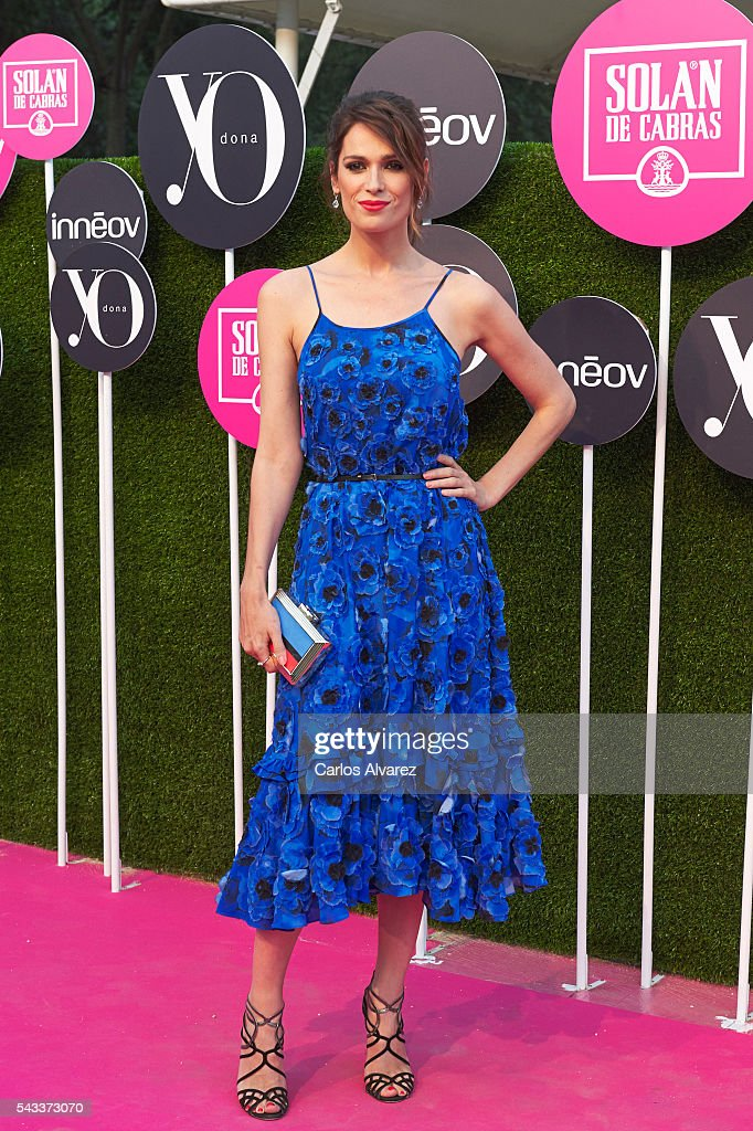 <a gi-track='captionPersonalityLinkClicked' href=/galleries/search?phrase=Mar+Saura&family=editorial&specificpeople=2801897 ng-click='$event.stopPropagation()'>Mar Saura</a> attends 'Yo Dona' International awards on June 27, 2016 in Madrid, Spain.