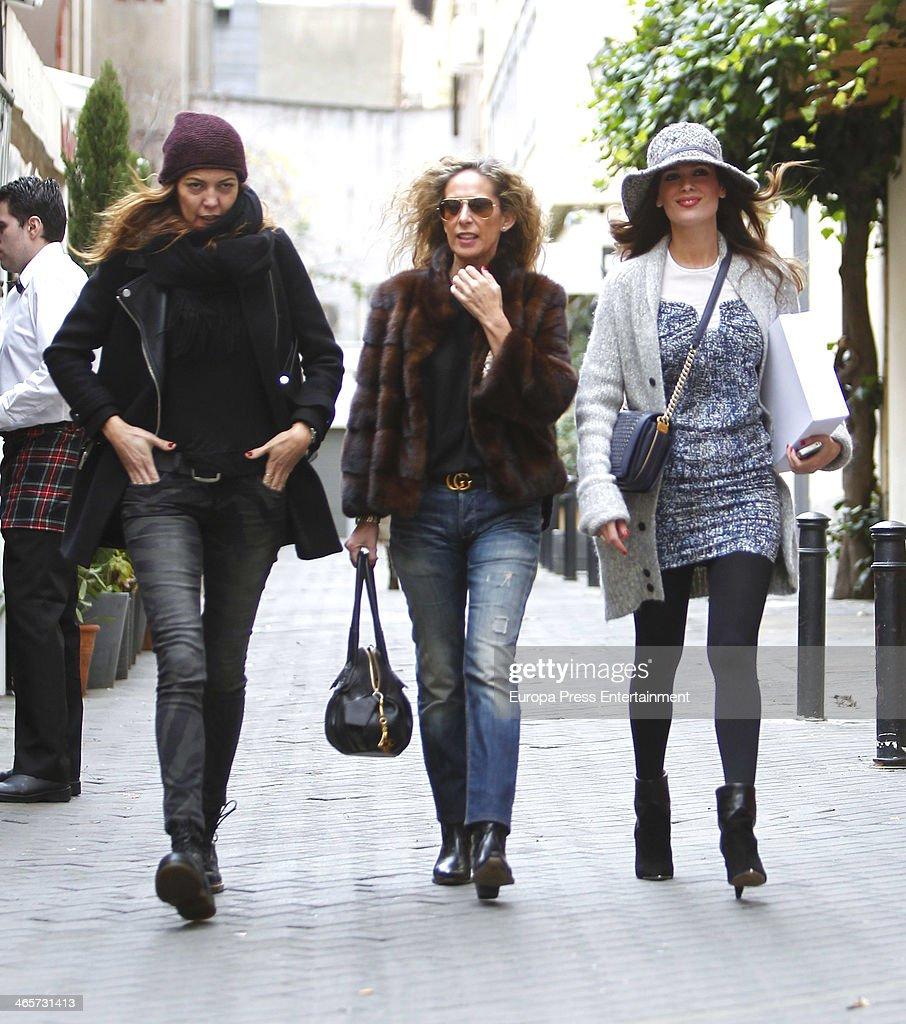 Celebrities Sighting In Madrid - January 28, 2014