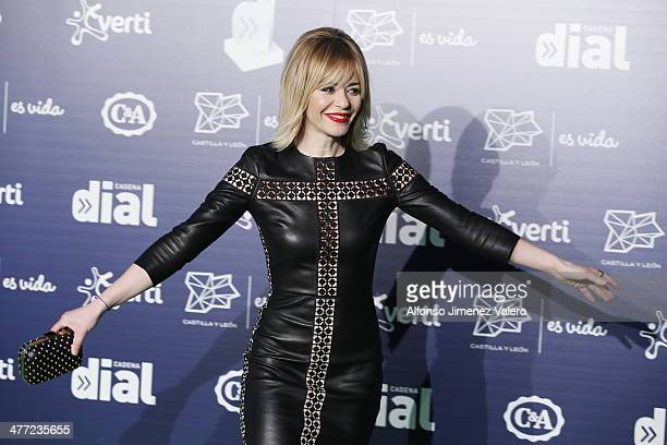 María Adánez at Cadena Dial Awards on March 7 2014 in Valladolid Spain